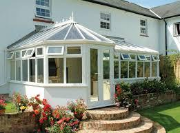 View of an installed Conservatories roof by expert