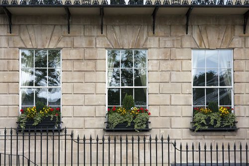 An example of sash windows installed by us
