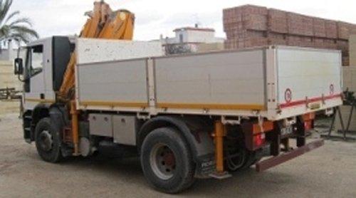 trasporto e scarico dei materiali