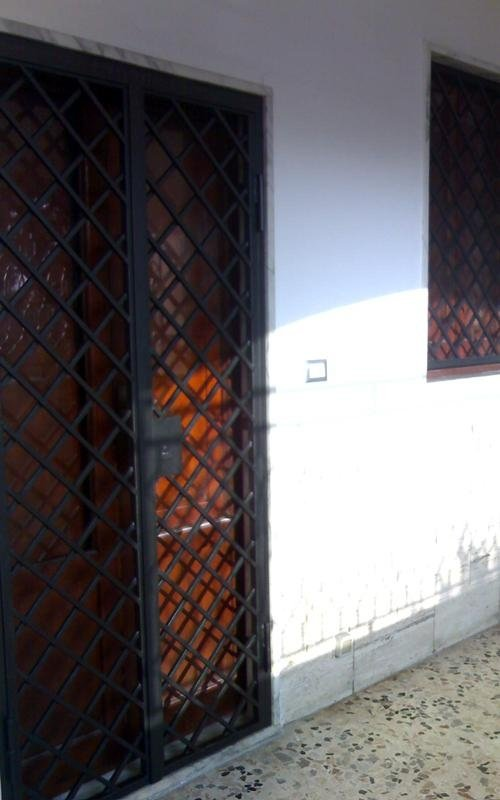 Cancello blindato