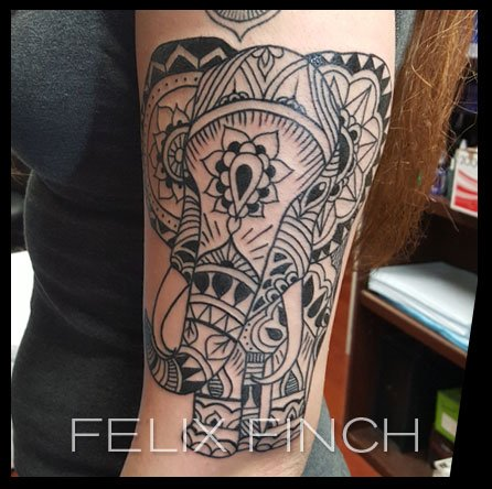 Felix Finch Tattoos