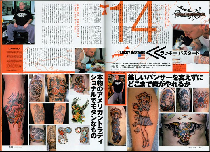 Tattoo Tribal Magazine featuring Lucky Bastard