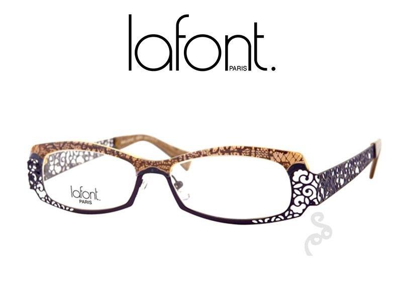 occhiali da vista con disegni a rete