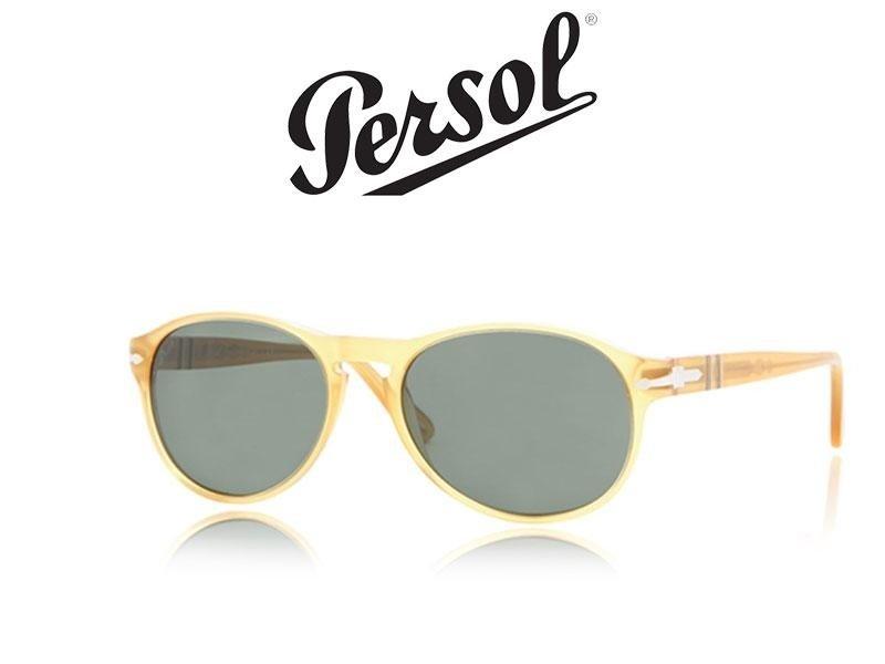 occhiali da sole di color giallo e dei lenti grigie