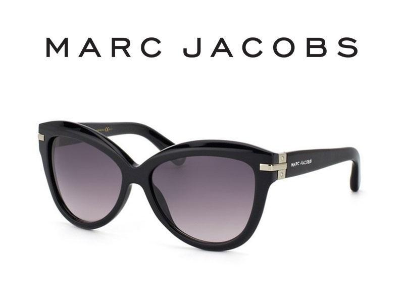 occhiali da sole Marc Jacobs con lenti a sfumatura grigia