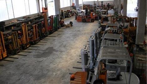 Commercio e noleggio carrelli elevatori