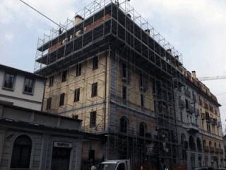 ponteggi per restauro milano
