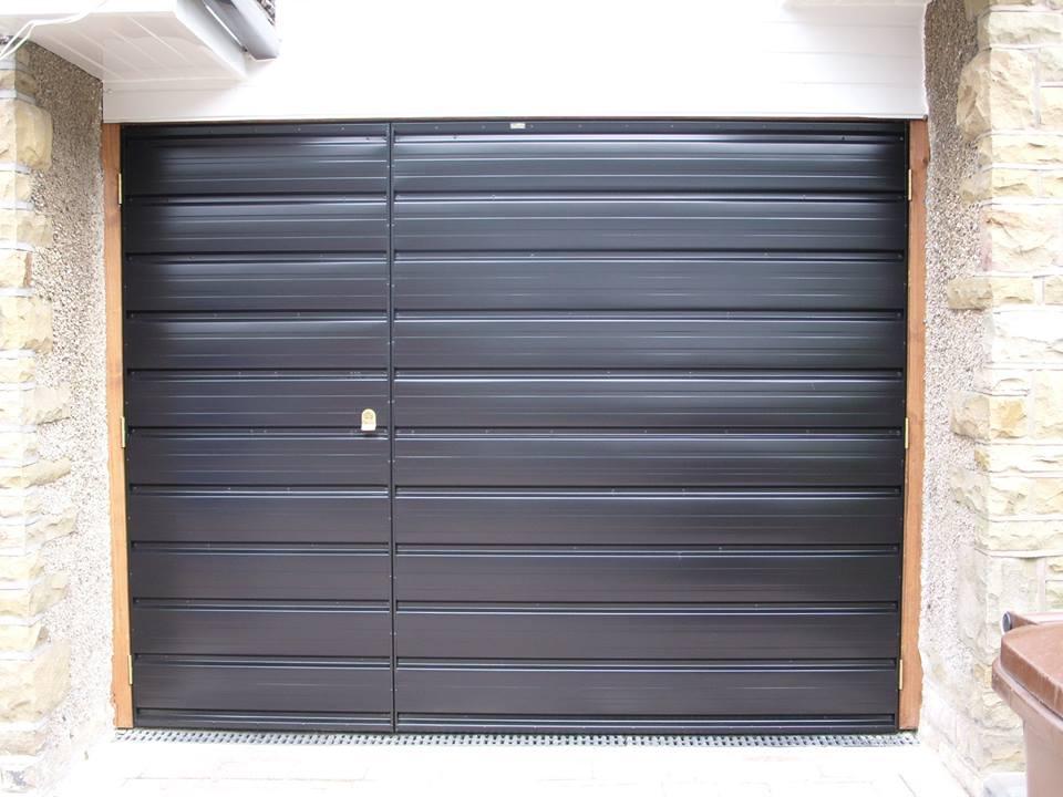 Sectional Garage Doors Grey