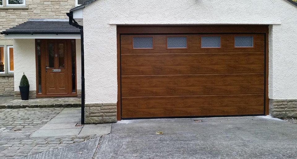 Up & Over Doors wood