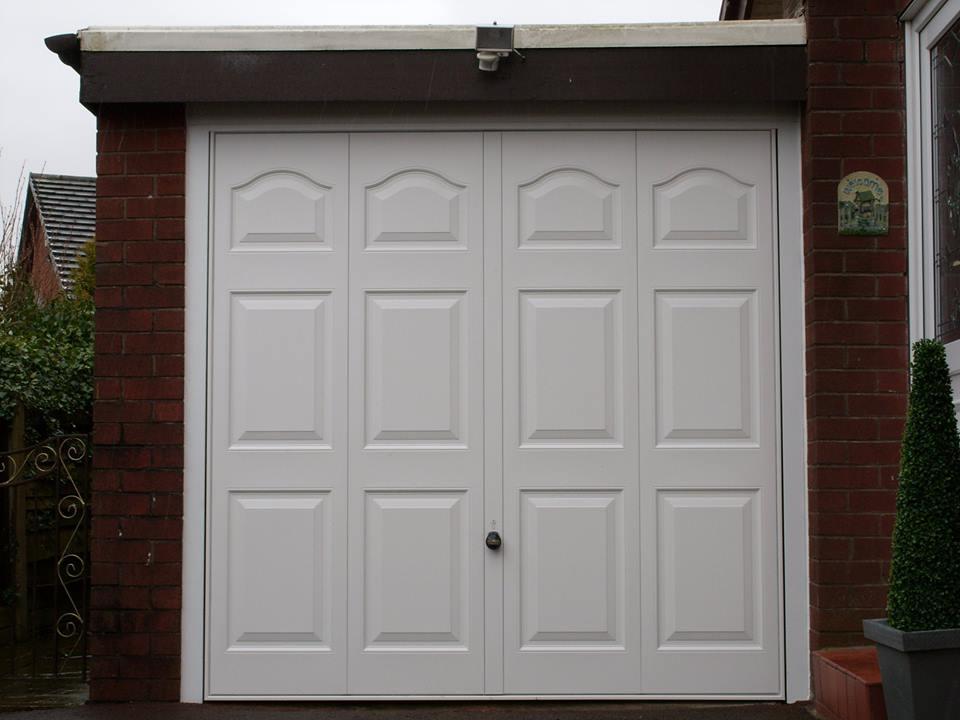 Side Hinged Doors white