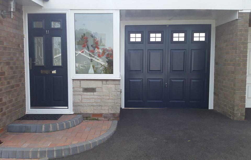 Side Hinged Doors blue