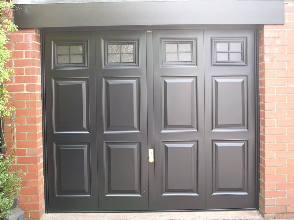 Side Hinged Doors double