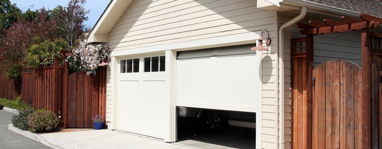 installation of garage doors