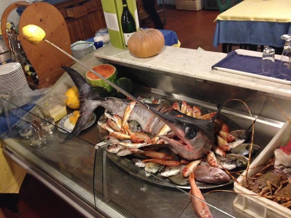 pesce, primi piatti a base di pesce