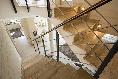 Clean stairway