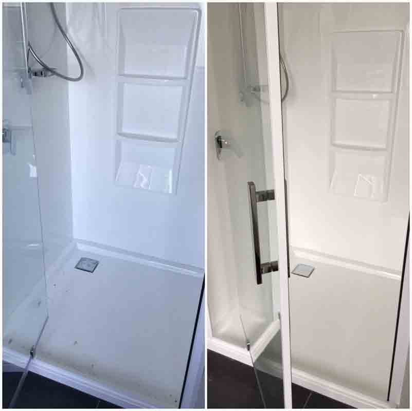 Shower cabin cleaning services