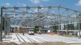 costruzione capannoni industriali, capannoni in acciaio, strutture in acciaio