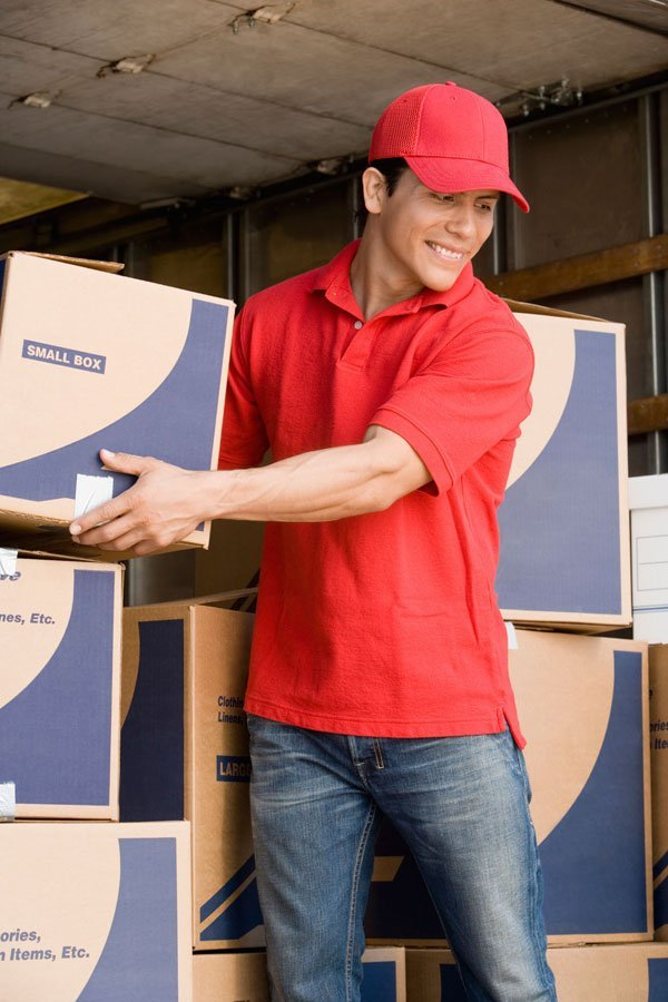 Home move - Coventry - W Grace Removals - Picking small box