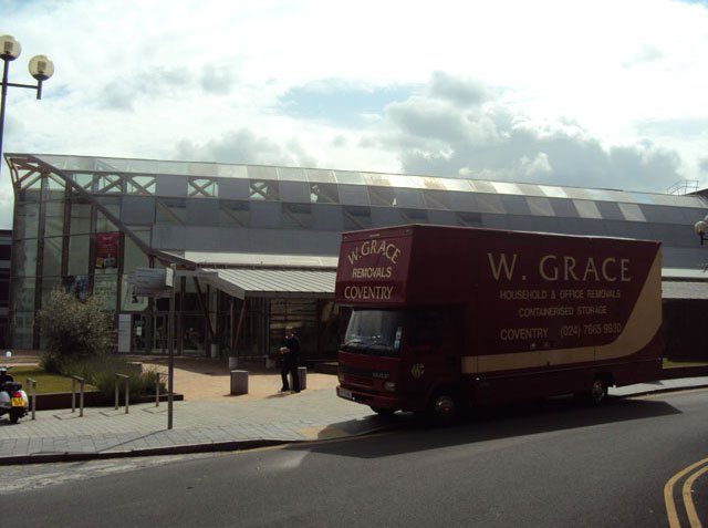 Home move - Coventry - W Grace Removals - Service van1