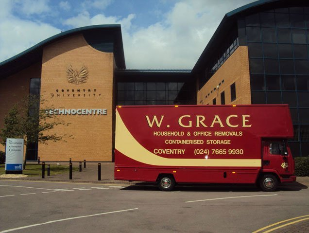 Home move - Coventry - W Grace Removals - Service van3