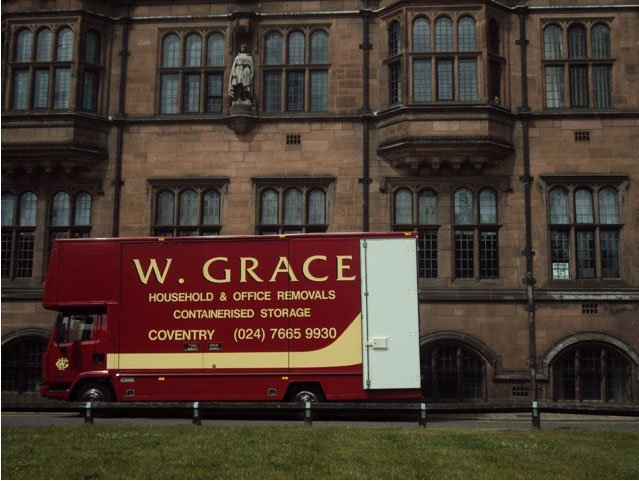 Home move - Coventry - W Grace Removals - Service van4