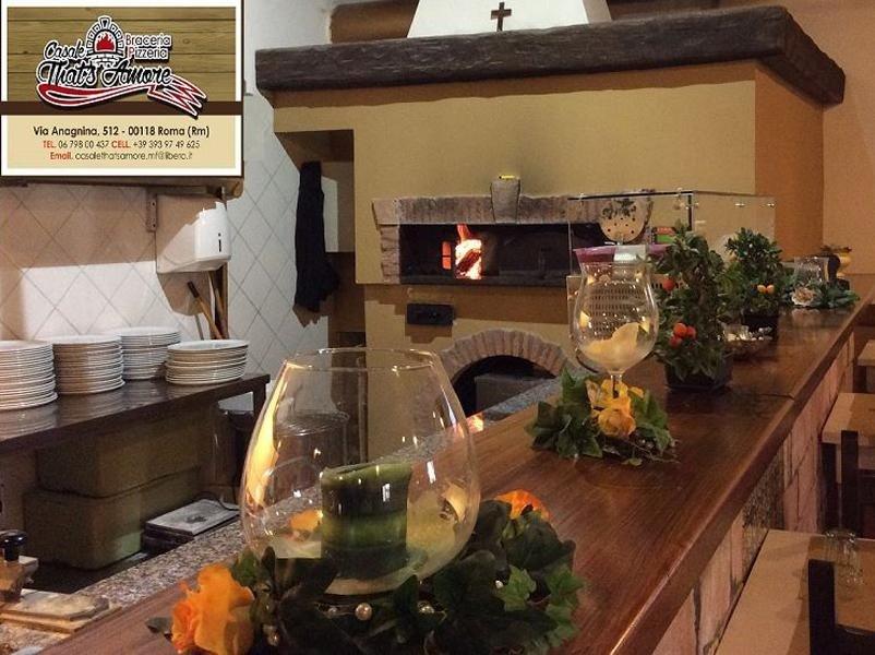 pizzeria forno a legna roma