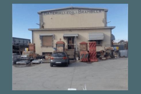 Ingresso della nostra rivendita di materili edili