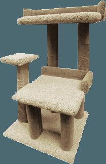 Creations Just 4 Paws Playground 2 Cat Tree