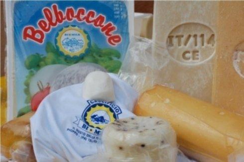 produzione di formaggi