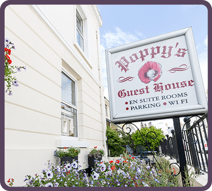 Poppy's Guest House - Bed & Breakfast Plymouth