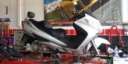 Officina per moto e scooter