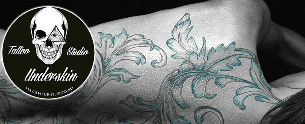 tatuaggi bianco e nero, tatuaggi colorati, tatuaggi floreali, tatuaggi polinesiani, Viterbo