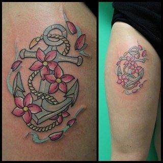 realizzazione tatuaggio, applicazione piercing, viterbo