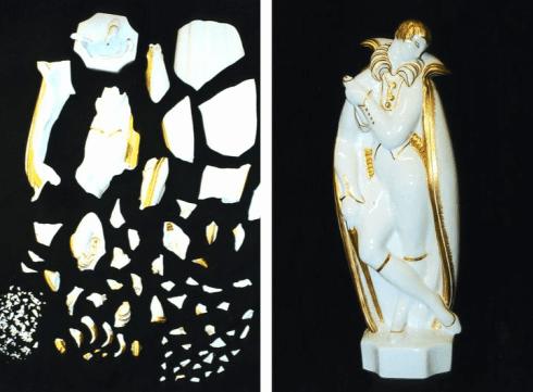 Restauro statuetta in porcellana, Firenze