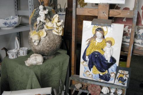 Restauro di manufatti in ceramica, Firenze