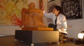 Restauro scultura in terracotta, Firenze