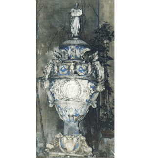 Restauro ceramiche, firenze