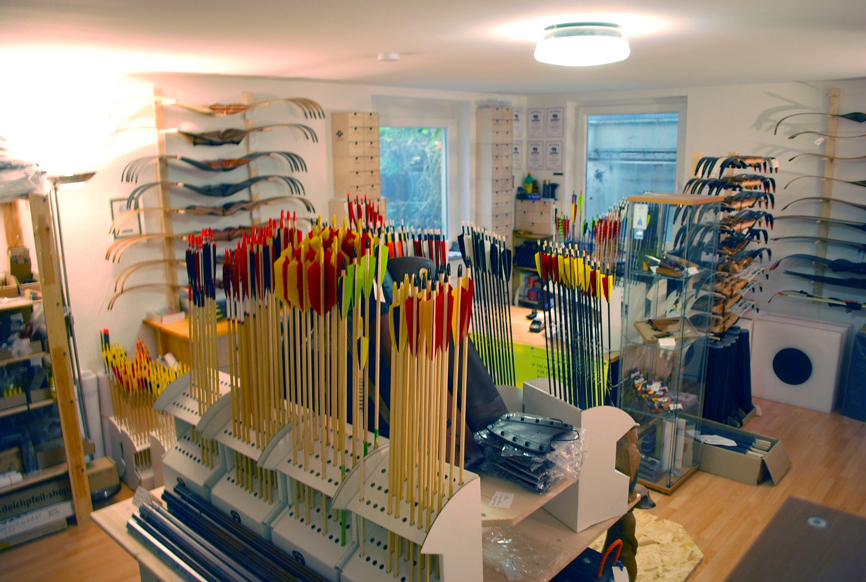 Shop fuer Bogensportartikel