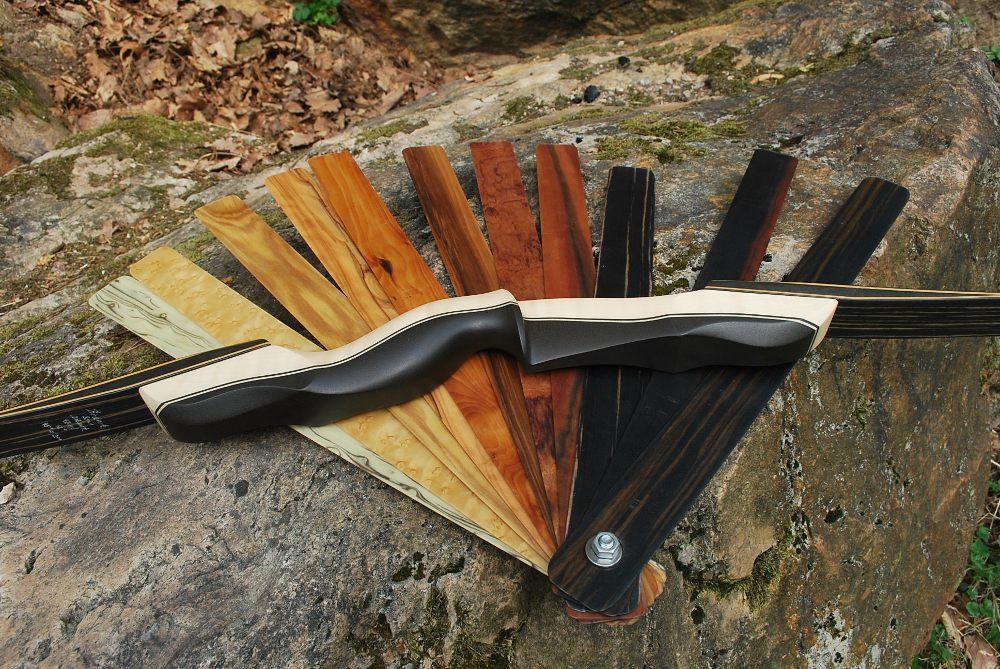 Wurfarmlaninate für Bodnik Bows Mohawk Chief und Hybrid