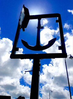 Steel Anchor sign