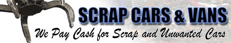 SCRAP CARS & VANS logo