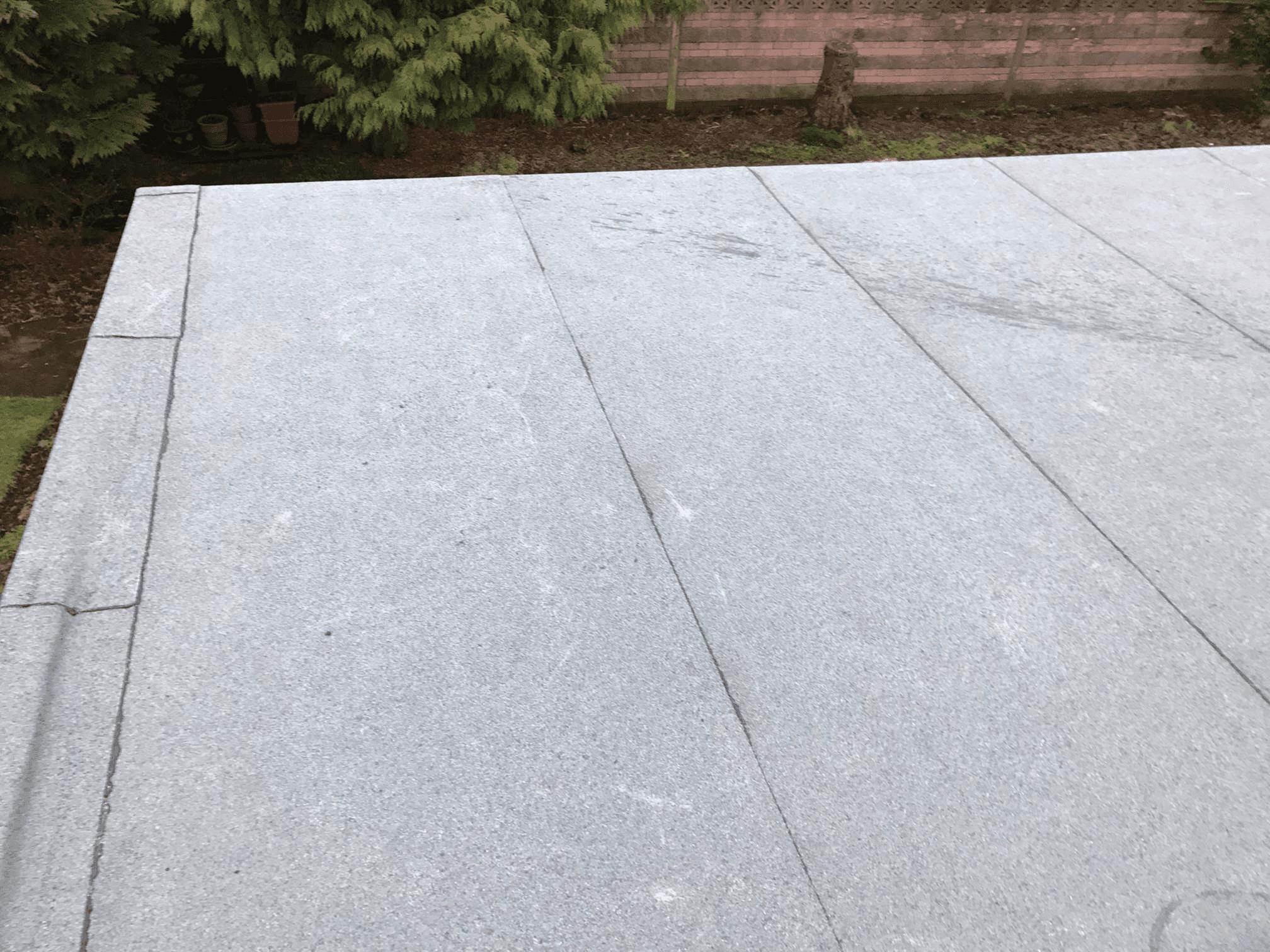 flat roof construction