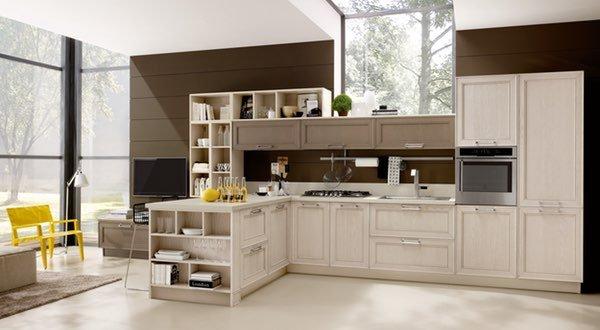 una cucina open space