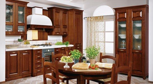 una cucina classica