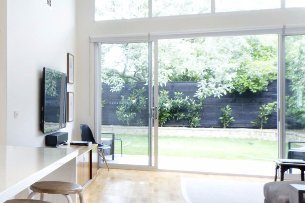 sliding glass door