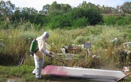 Intervento bonifica amianto