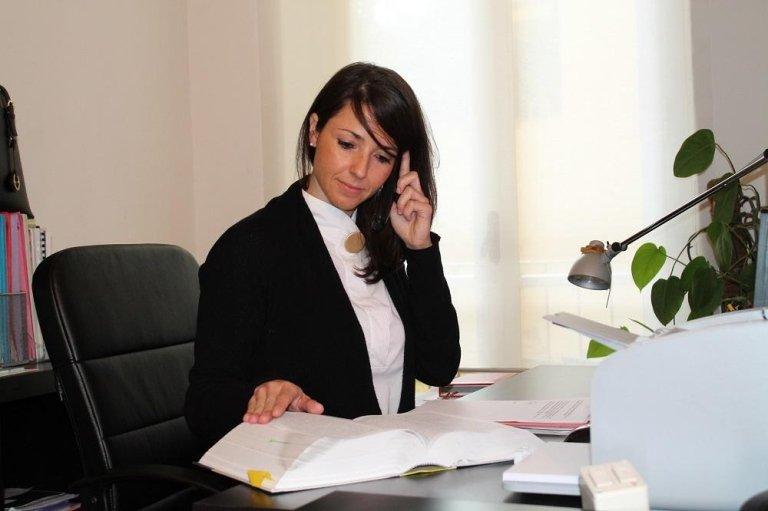 Avv. Alessia D'Atri  di cabras marra  studio legale firenze
