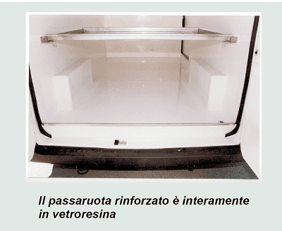 interno di vettura ad uso speciale