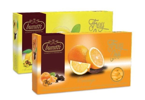 Scorza di limone e arancia confettata