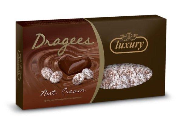 Confetti dragees nut cream